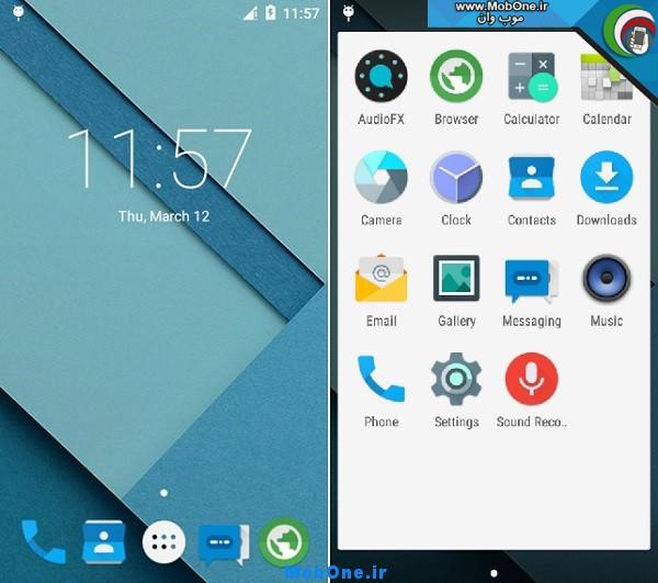 دانلود رام کاستوم لالی پاپ اندروید 5.0.2 برای گوشی های اکسپریا ...