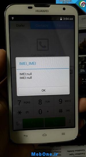 Fix imei Huawei