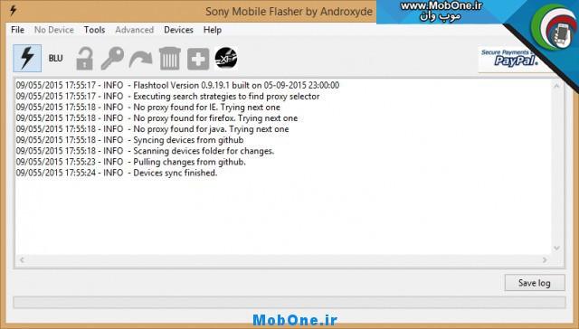 Flashtool 0.9.19