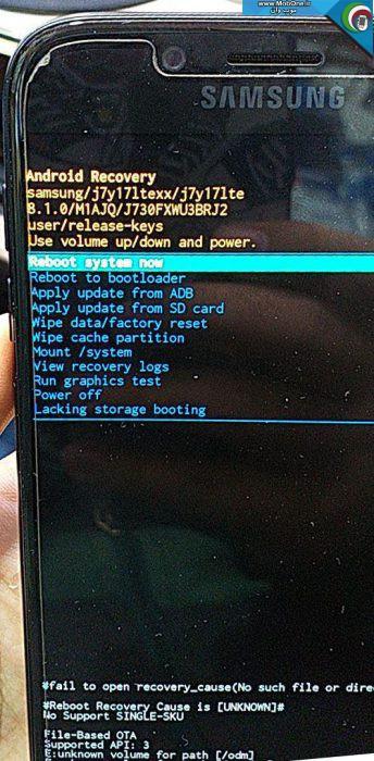 فایل حذف قفل SM-J730F