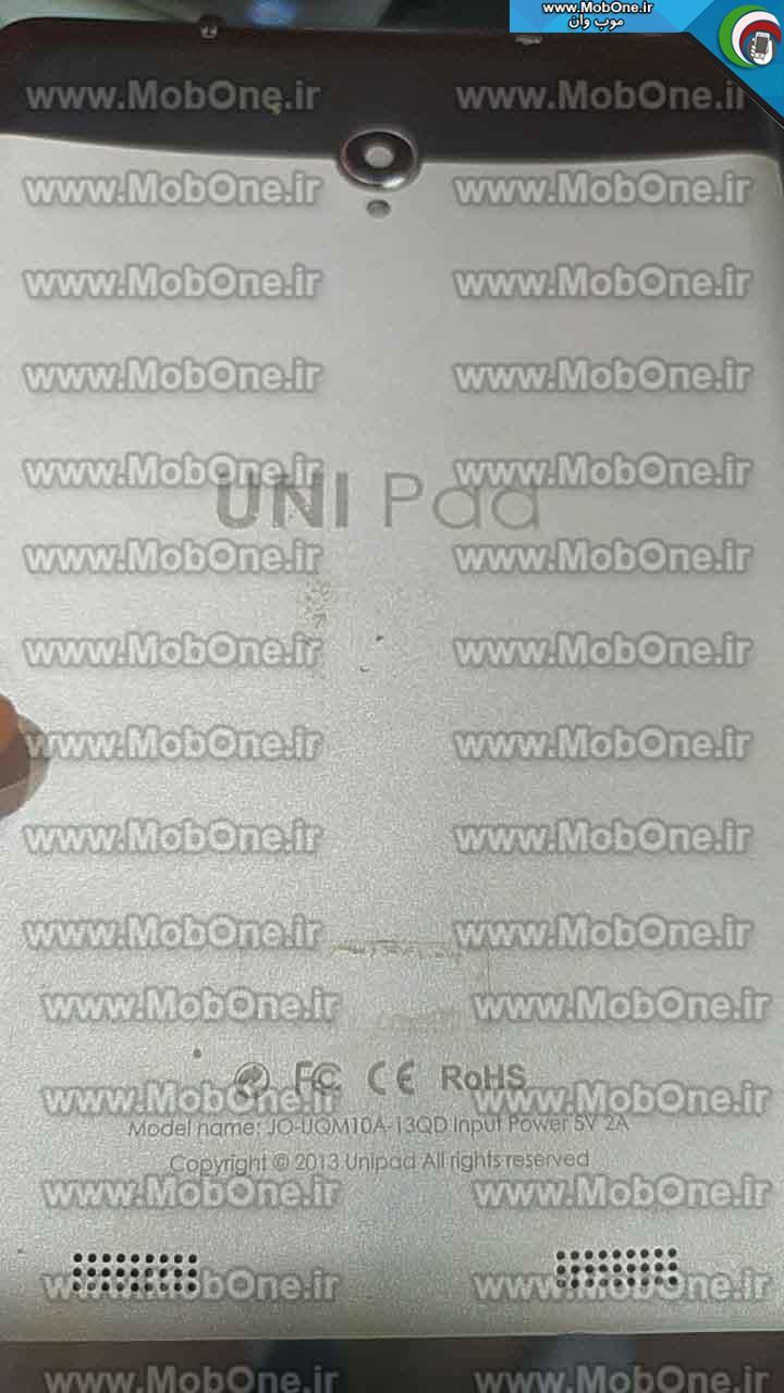 فایل فلش UNI PAD JO-UQM10A-13QD MT6589